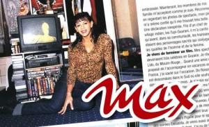 Escualita dans MAX magazine