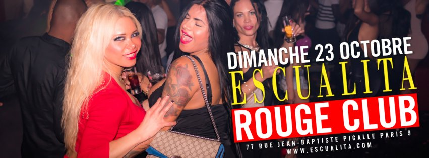 Dimanche 23 octobre 2016 : The Sunday Night TransGirl and Tranny Party